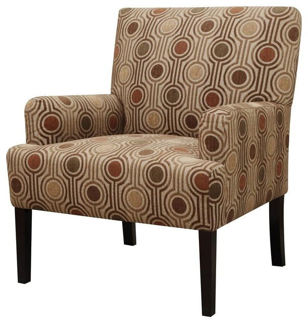 Superbe Casual Accent Chair With Arms