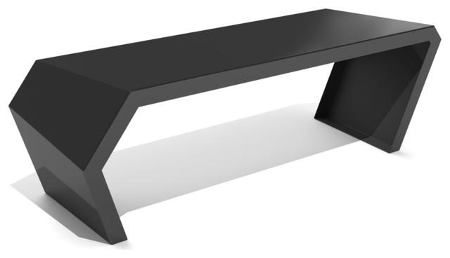 Arktura Pac Bench, Jet Black. -1
