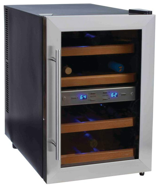 Wyndham house thermoelectric wine cooler contemporary for Beer and wine cooler table