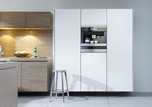 No handles kitchen - Modern - Pantry Cabinets - Miami - by Ricardo ...