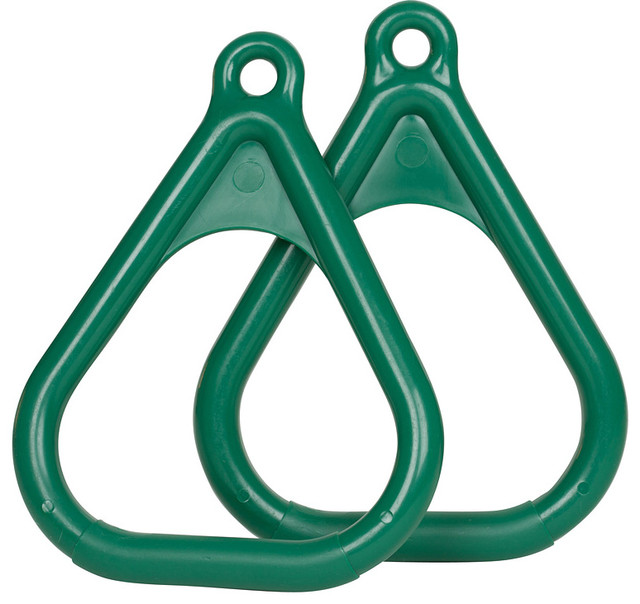 Swing Set Plastic Trapeze Rings Set Of 2 Contemporary By Swing