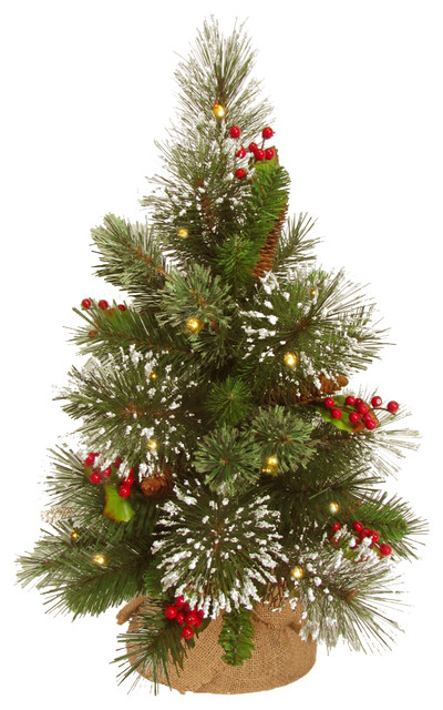 Battery Operated Christmas Trees