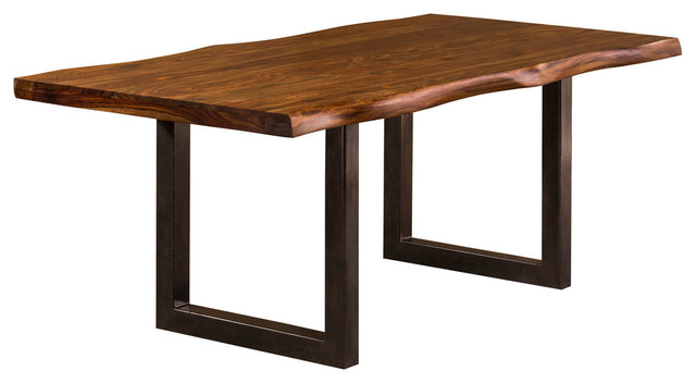 Hillsdale Furniture   Emerson Rectangle Dining Table, Natural Sheesham    Dining Tables