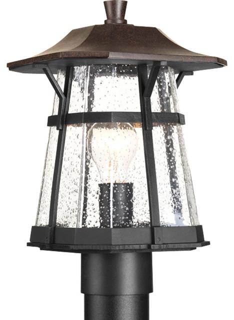 Derby 1-Light Post Lights & Accessories, Espresso.