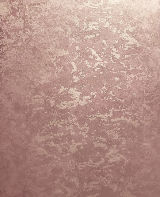 Copper Plain Metallic Textured Wallpaper 500034 Euro Roll 76 Sq Ft