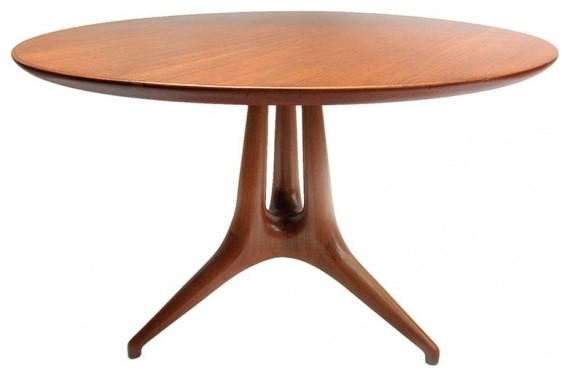 midcentury center table