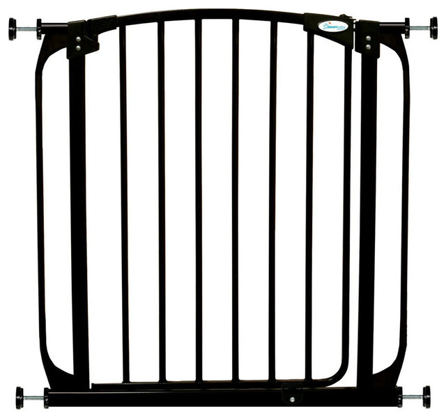 Self Closing Baby Gate Contemporary Baby Gates And Child Safety
