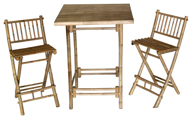 Fantastic 3 Piece Bar Height Square Table With 2 Folding Chairs Onthecornerstone Fun Painted Chair Ideas Images Onthecornerstoneorg