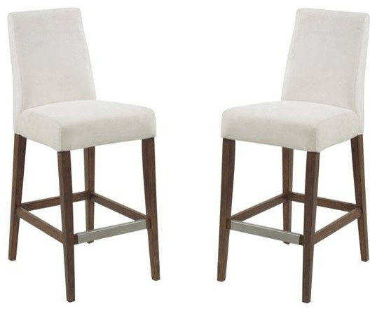 Fantastic Pemberly Row Keeton Cream 30 Bar Stool Set Of Two Ibusinesslaw Wood Chair Design Ideas Ibusinesslaworg