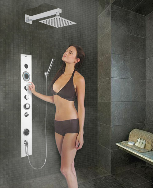 Serene Shower Steam System Storm Surge