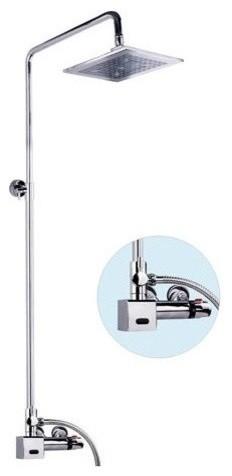 Electronic Sensor Shower : Controls Sensor Parts, Powered By An Internally  Mounted 6V Battery,