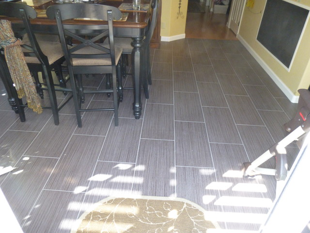 12 X 24 Porcelain Tile Flooring Running Bond Pattern