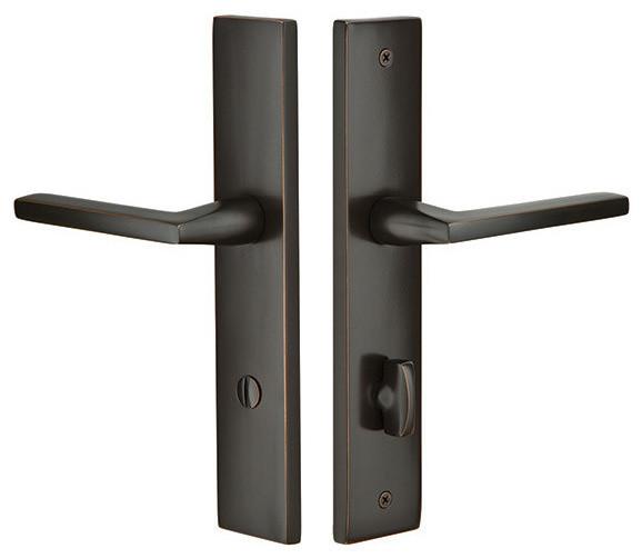 Shop Houzz Emtek Emtek 10 Quot Stretto Sideplate Lock For