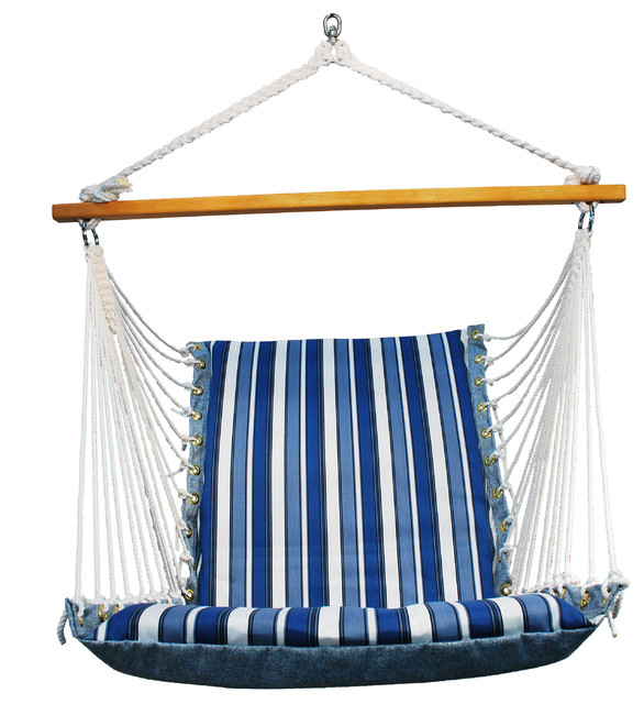 Soft Comfort Cushion Hanging Chair Traditional Hammocks And Swing Chairs By Algoma Net Company