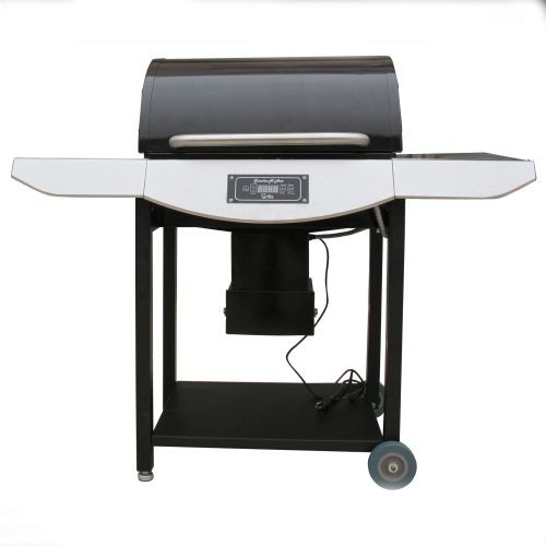 Smoke-N-Hot Basic Value Pellet Grill Stainless Trim.