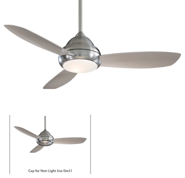 52 Concept I Ceiling Fan, Brushed Nickel.