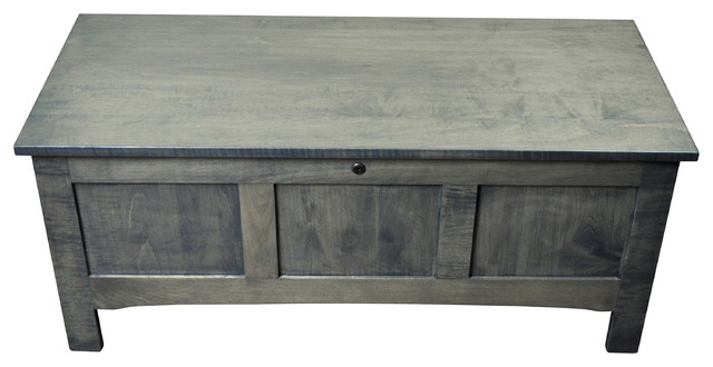 Raised Panel Toy Chest Hope Chest Blanket Chest Solid