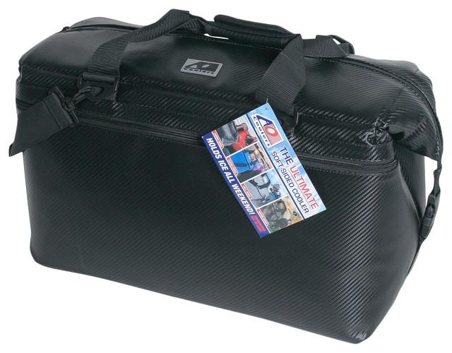 36-Pack Carbon Cooler, Black.