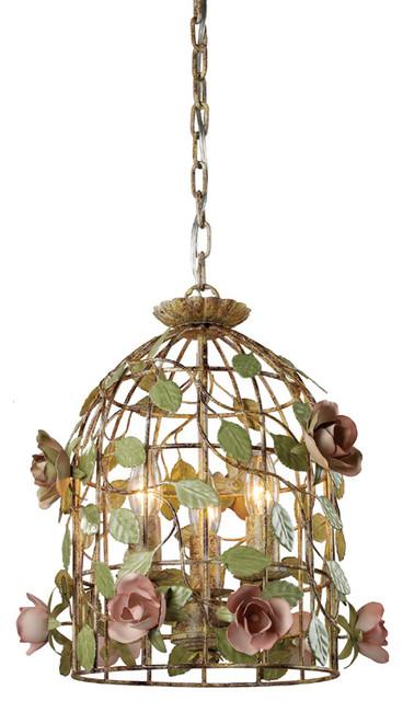 bird cage lights bird cage pendant with dusky roses modern pendant lighting cage lighting pendants