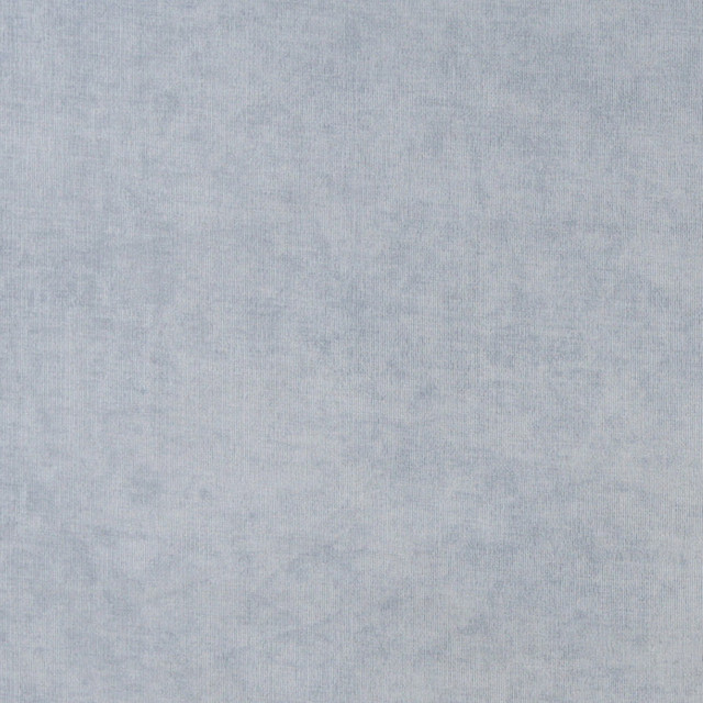 Sky Blue Solid Woven Velvet Upholstery Fabric By The