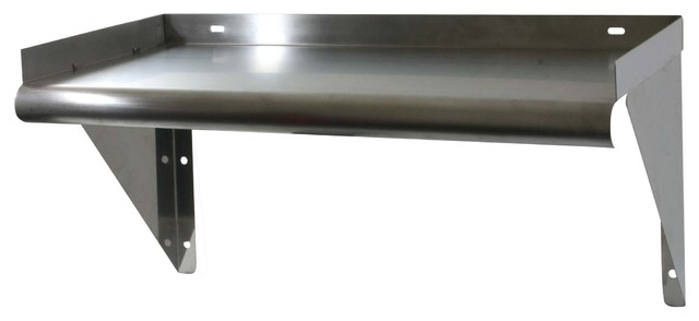 Sportsman Series 24 Inch Stainless Steel Work Shelf industrial-display-and- wall-
