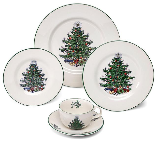 Cuthbertson Original Christmas Tree Traditional 5 Piece ...