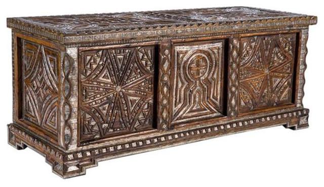 Antique Carved Wood Storage Chest - $2,100 Est. Retail - $899 on Chai - SOLD OUT! Antique Carved Wood Storage Chest - $2,100 Est. Retail