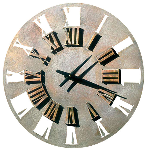 Factory Direct Wall Decor Roman Retro Wall Clock Wall Clocks Houzz