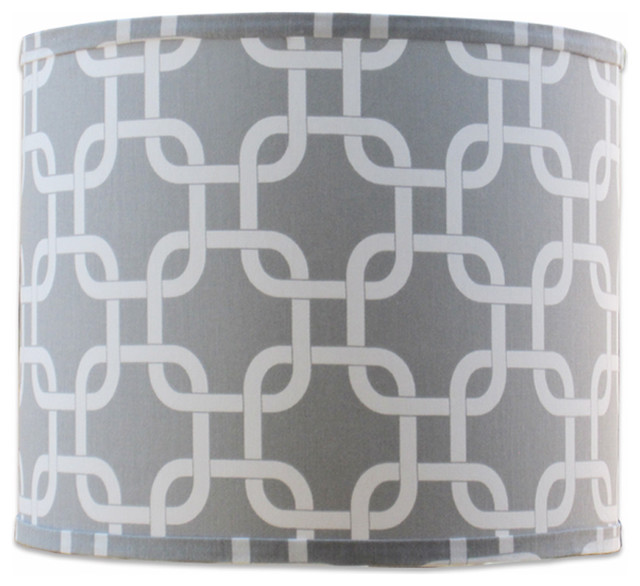 Small links grey shade contemporary lamp shades by doodlefish small links grey shade aloadofball Choice Image
