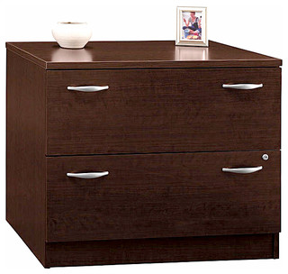 Assembled Double Drawer Lateral File Cabinet, Series C - Contemporary - Filing Cabinets - by ...