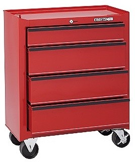 4-Drawer Roll-Away Homeowner Tool Chest - Accent Chests And Cabinets - by Craftsman