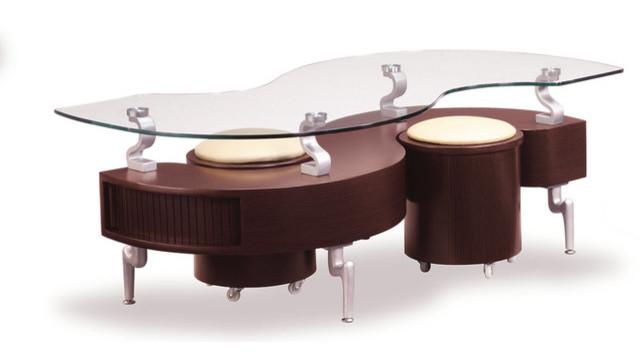 Global Furniture Coffee Table Mahogany