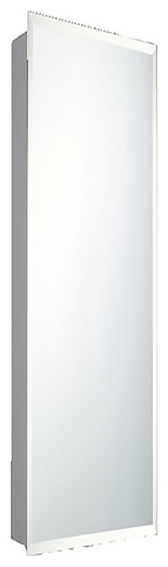 """Deluxe Series Medicine Cabinet, 18""""x60"""", Beveled Edge, Surface Mounted"""