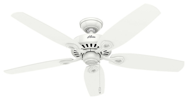 Builder Elite Indoor Ceiling Fans, Snow White.