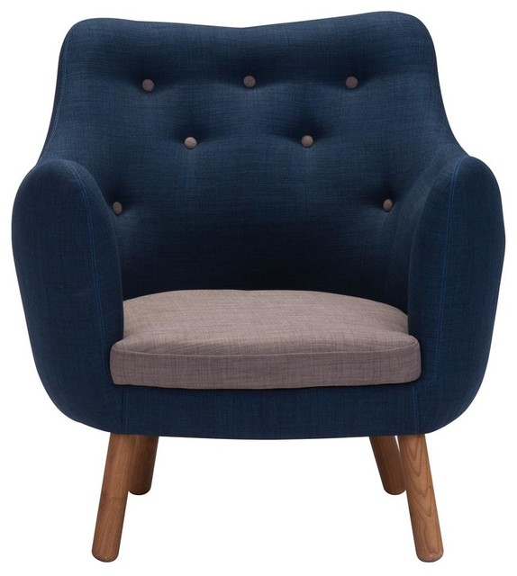 Chair In Cobalt Blue Midcentury Armchairs And Accent