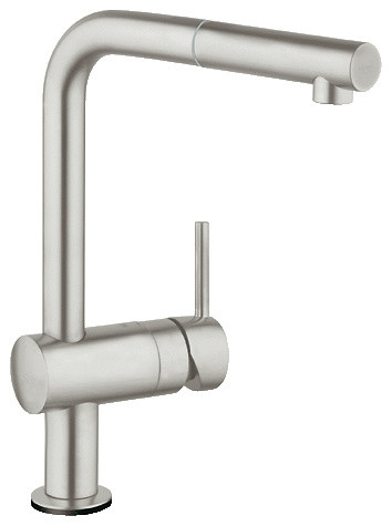 Grohe 30 218 Minta Touch Activated Pull Out Kitchen Faucet