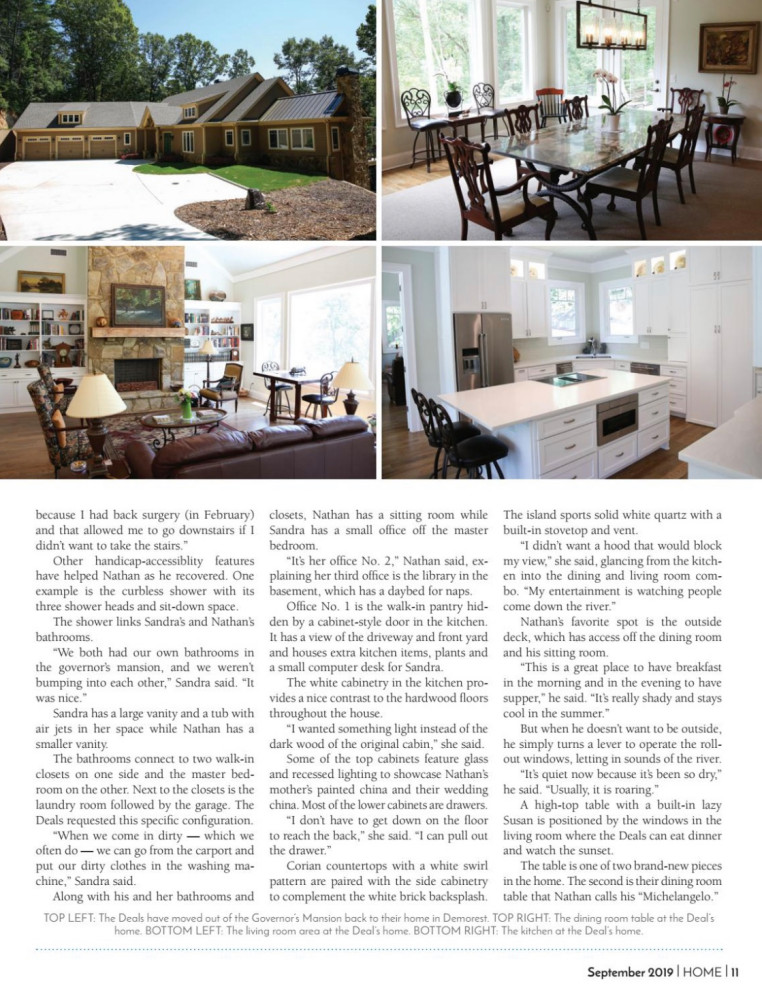HOME Magazine feature September 2019
