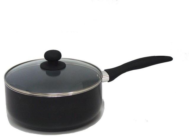 Gourmet Chef 4 Fl Qt Eco Friendly Non Stick Ceramic Sauce Pan..