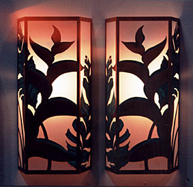 Heliconia Large Sconces