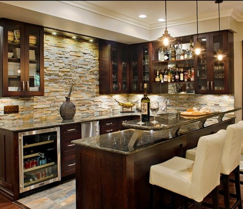 bar backsplash - backsplashes