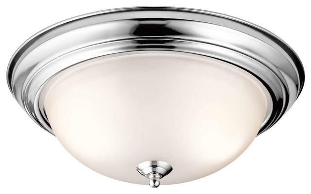 Kichler 8116ch Flush Mount Light, Chrome.