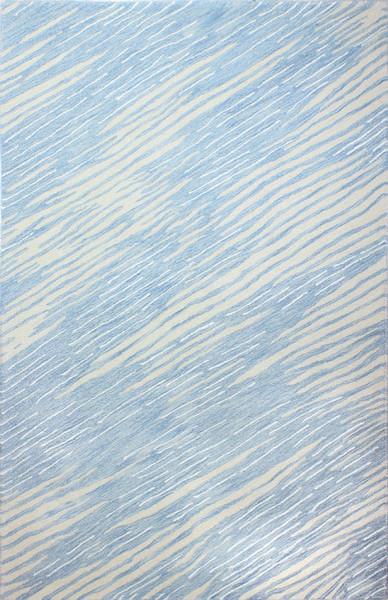 "Bashian Mitzi Area Rug, Light Blue, 7'9""x9'9"""