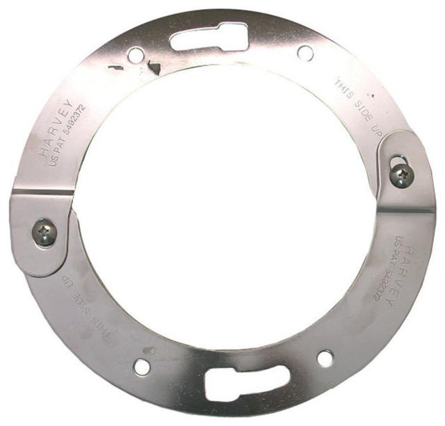 Lasco 33-3736 Adjustable Toilet Flange Repair Ring, Stainless Steel