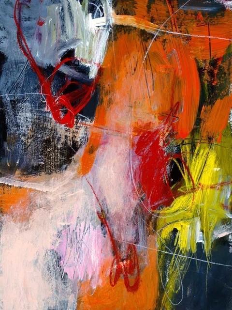 """flurry"" Fine Art Canvas Print, 54""x72""."