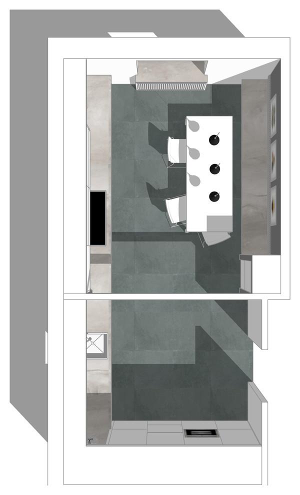 3D Visualisierung der neuen Küchenplanung