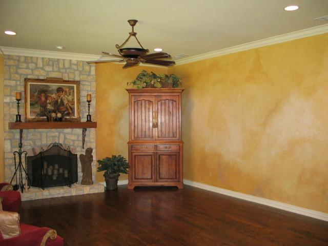 color wash walls traditional dallas by jergiles artwalls. Black Bedroom Furniture Sets. Home Design Ideas