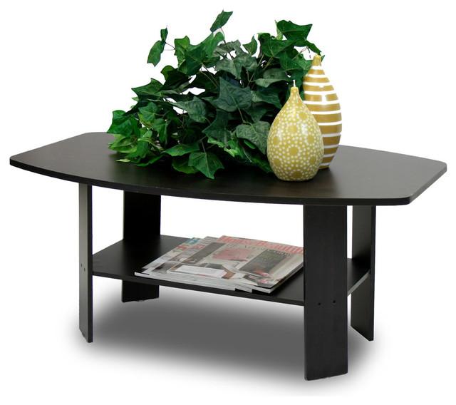 Furinno Simple Design Coffee Table, Espresso.