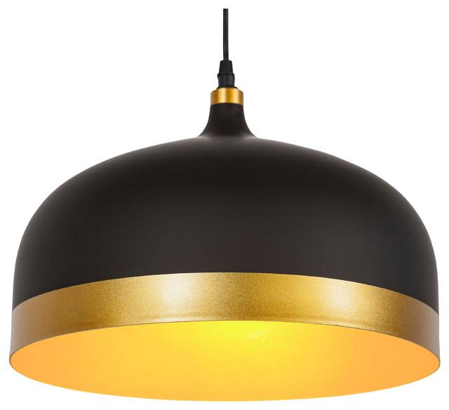 Melaina Pendant Lamp, Black modern-pendant-lighting
