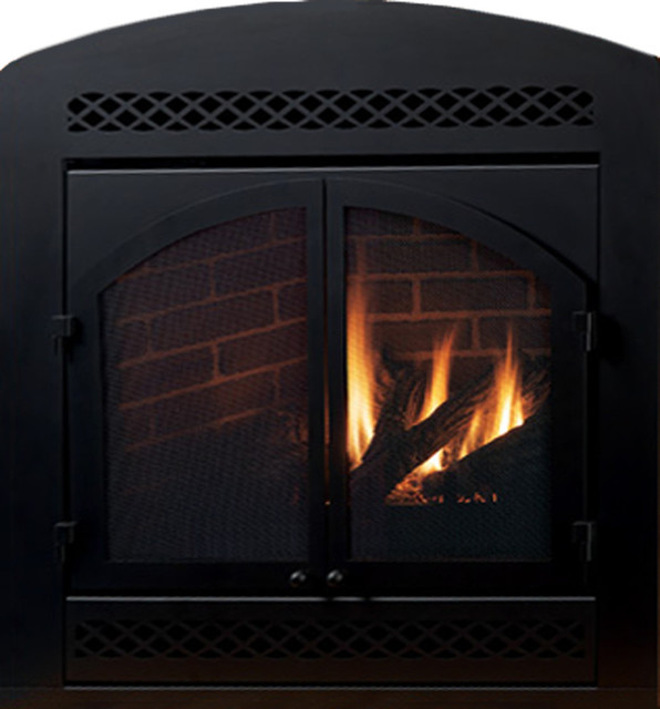 ventless gas fireplace replacement logs