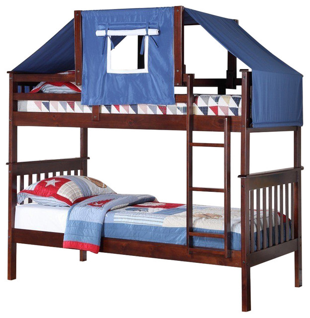 Logan Bunk Bed Tent Kit In Blue